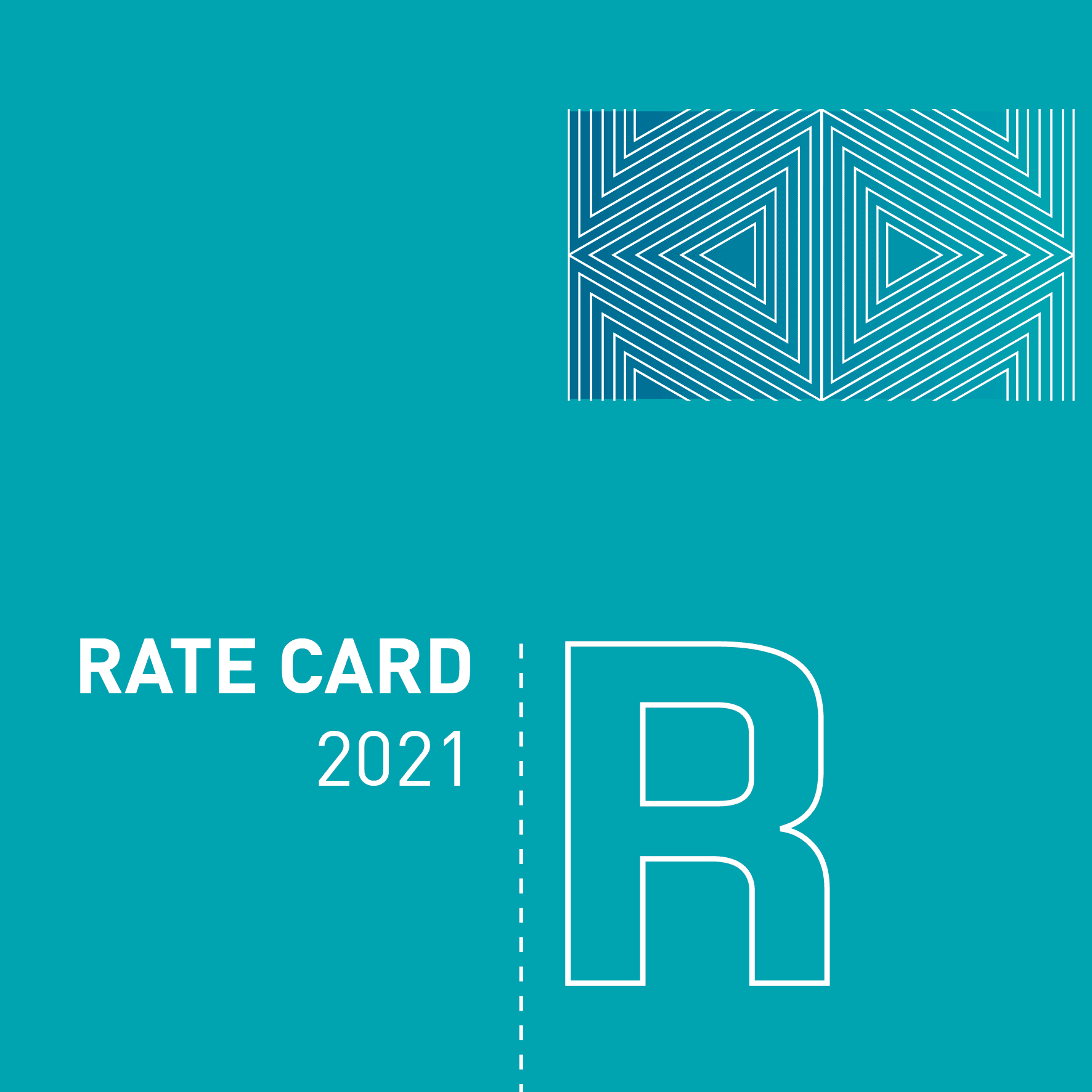 2021 Rate Card