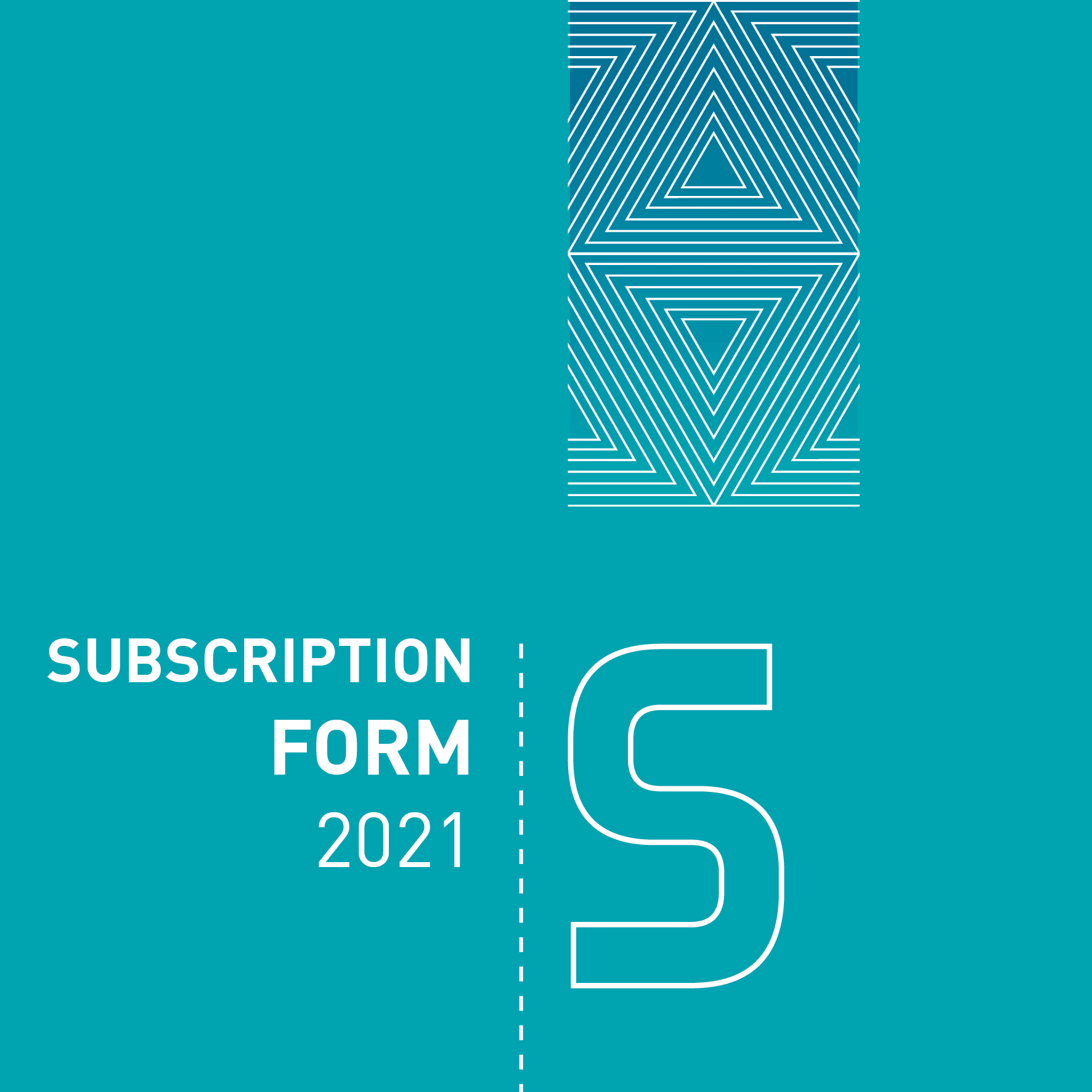 2021 Subscription Form